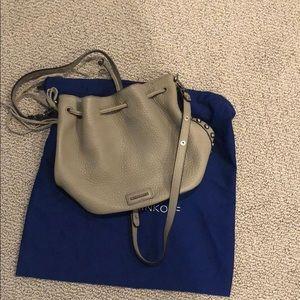 Rebecca Minkoff Taupe Bucket Bag
